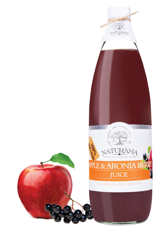 Apple and aronia berry