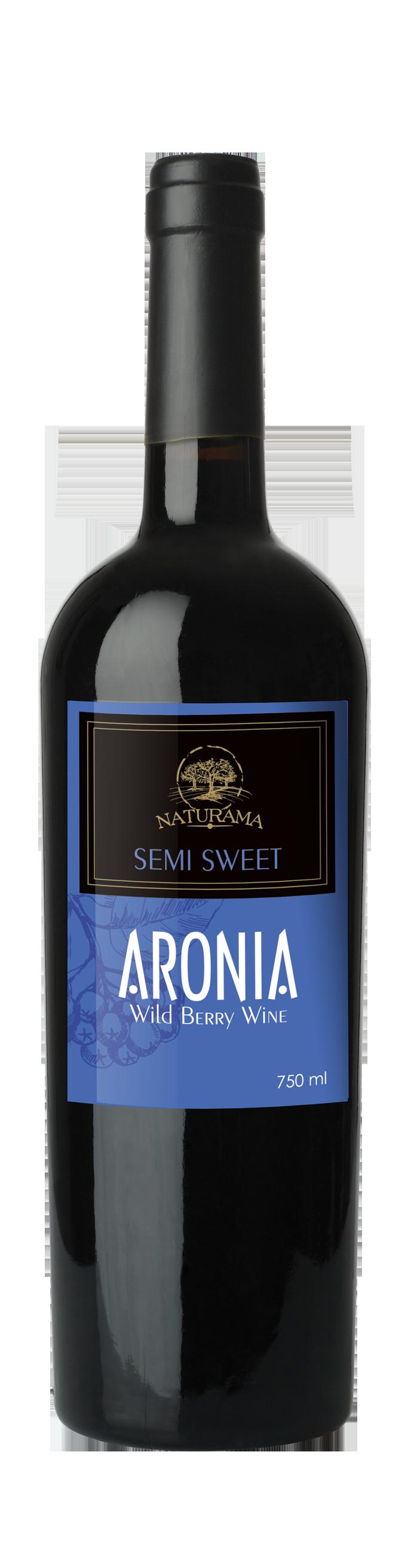 Aronia – Wild Berry Wine (SEMI SWEET)